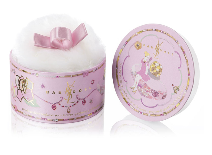 "イヴ・サンローラン ""BABY DOLL SPARKLING BODY POWDER"""